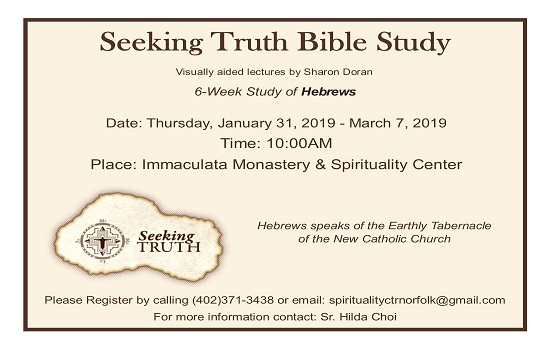 Seeking Truth Bible Study- Book of Hebrews