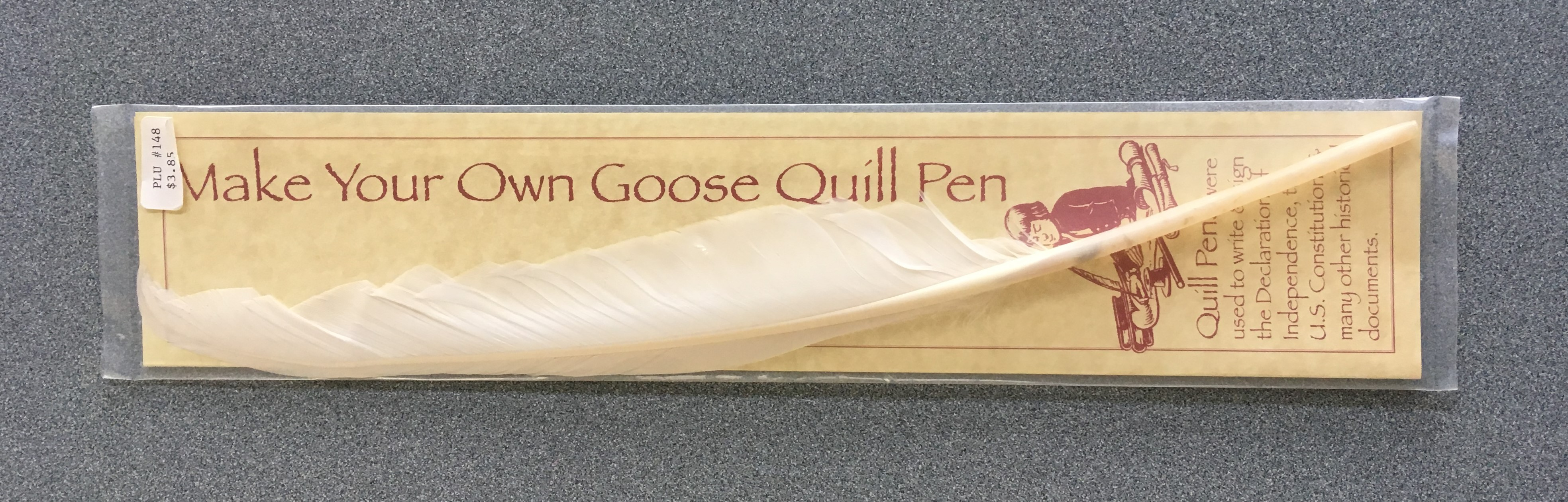 Make Your Own Goose Quill Pen