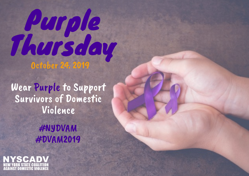 DVAM Purple Thursday