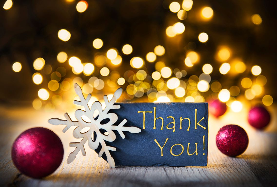 Holidays are a great time for leaders to express gratitude