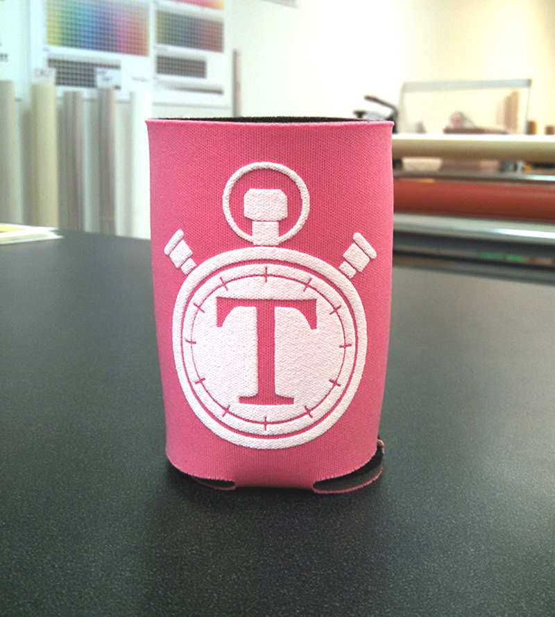 Silk Screened Coozie