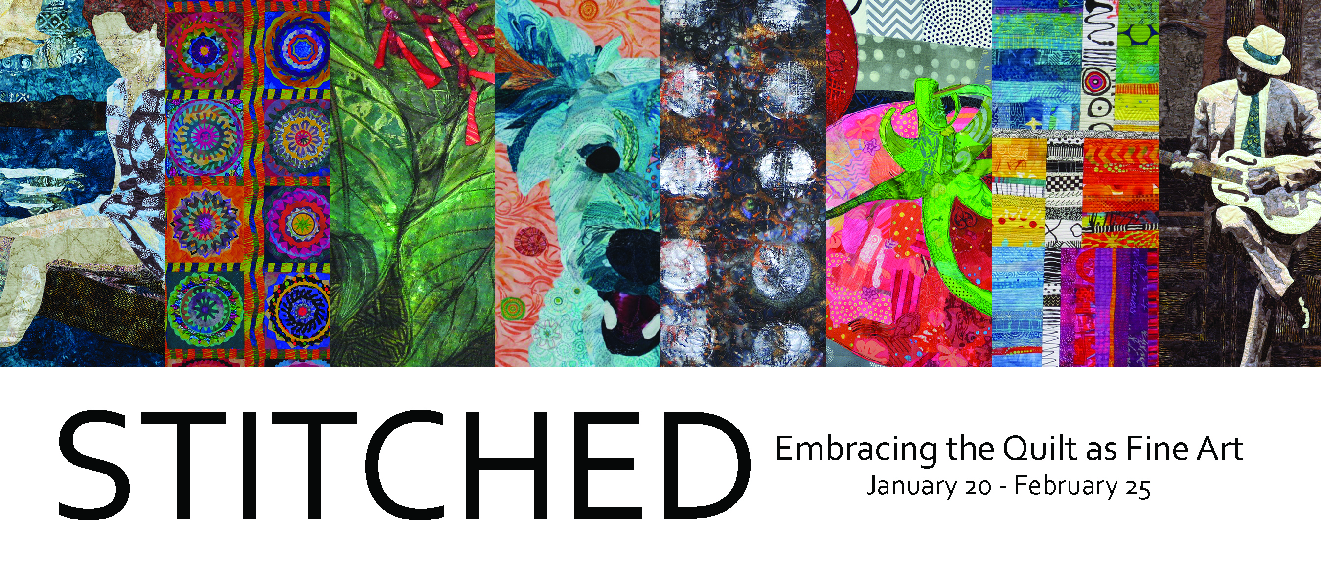 STITCHED: Embracing the Quilt as Fine Art