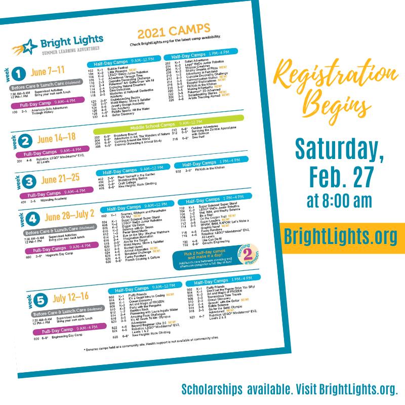 Registration Opens Saturday