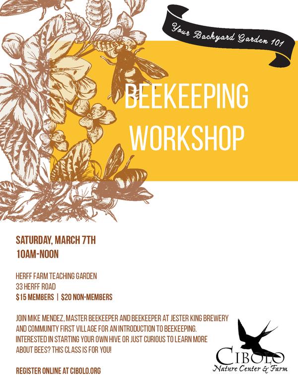 FARM:  Introduction to Beekeeping