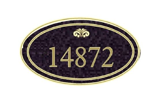 M1155 - Address Number Sign (Gallery 18)