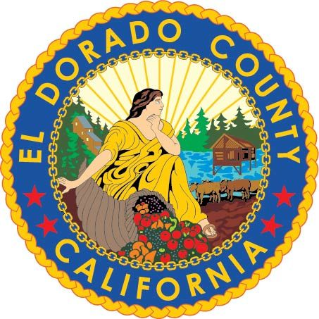CP-1160 -   Plaque of the Seal of El Dorado  County, California,  Giclee
