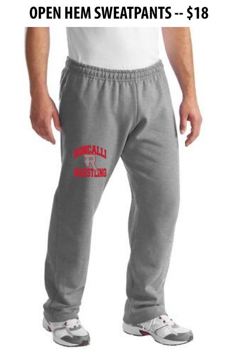 Roncalli Wrestling - Open Hem Sweatpants
