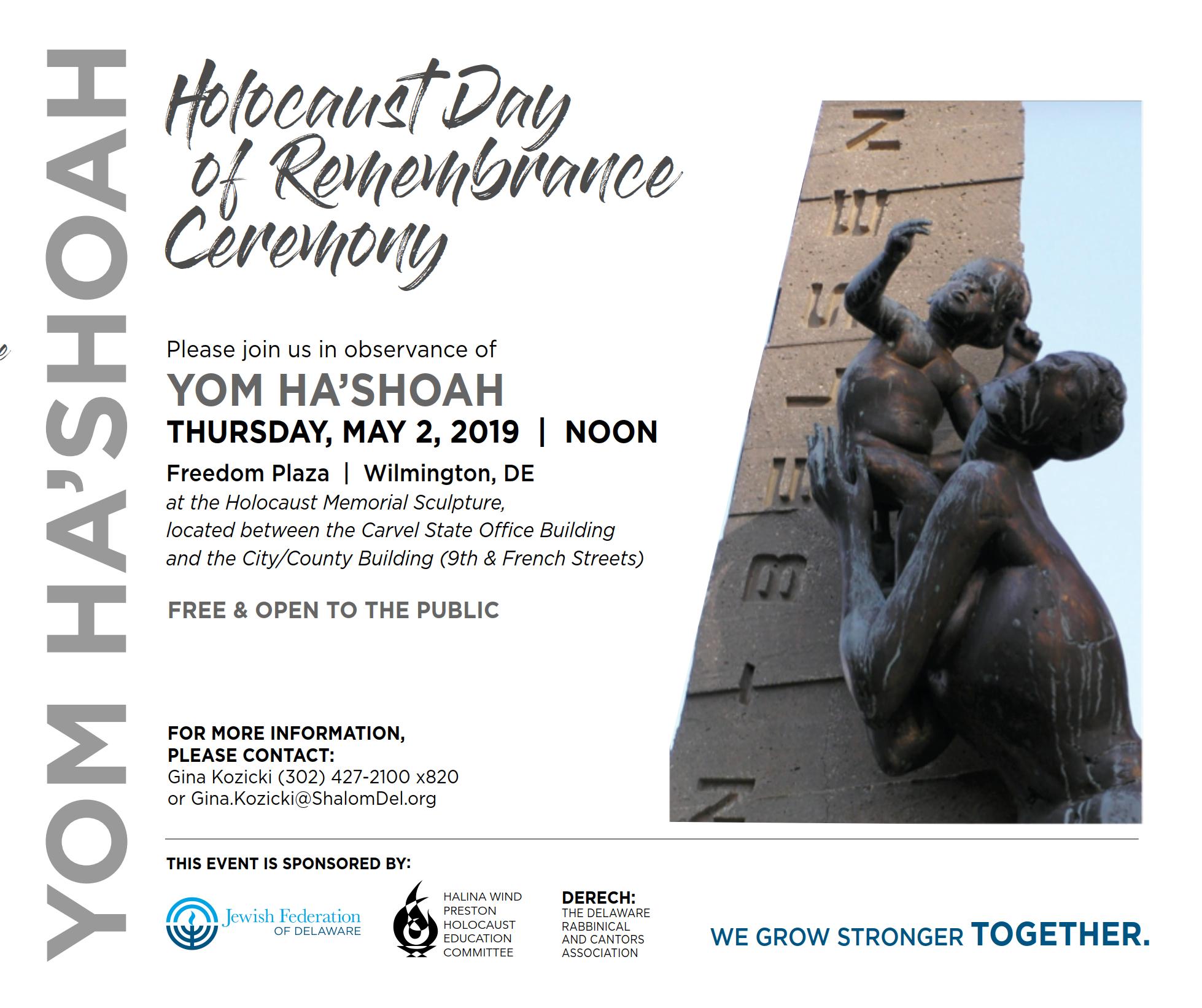 Yom HaShoah Remembrance Program