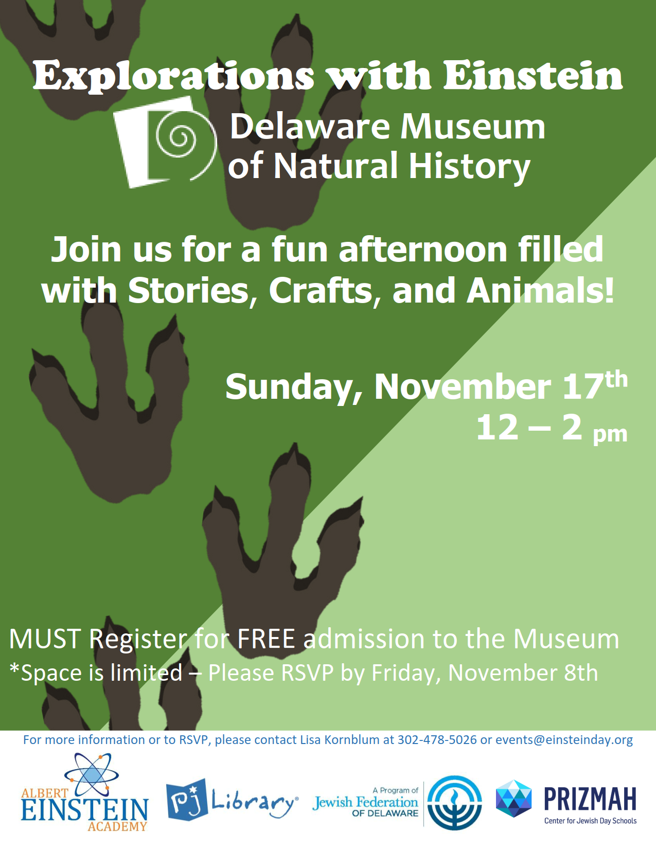 Explore with Einstein at the Delaware Museum of Natural History