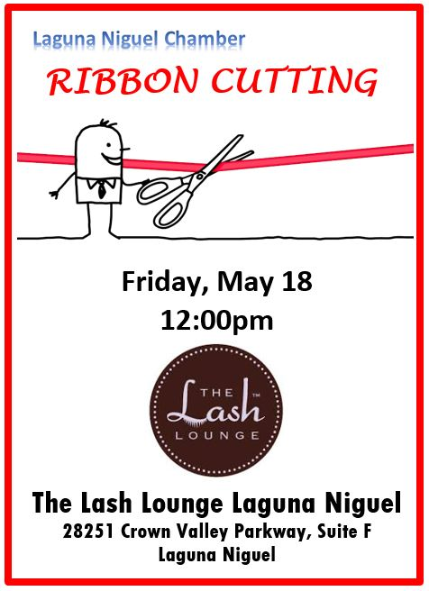 The Lash Lounge Ribbon Cutting