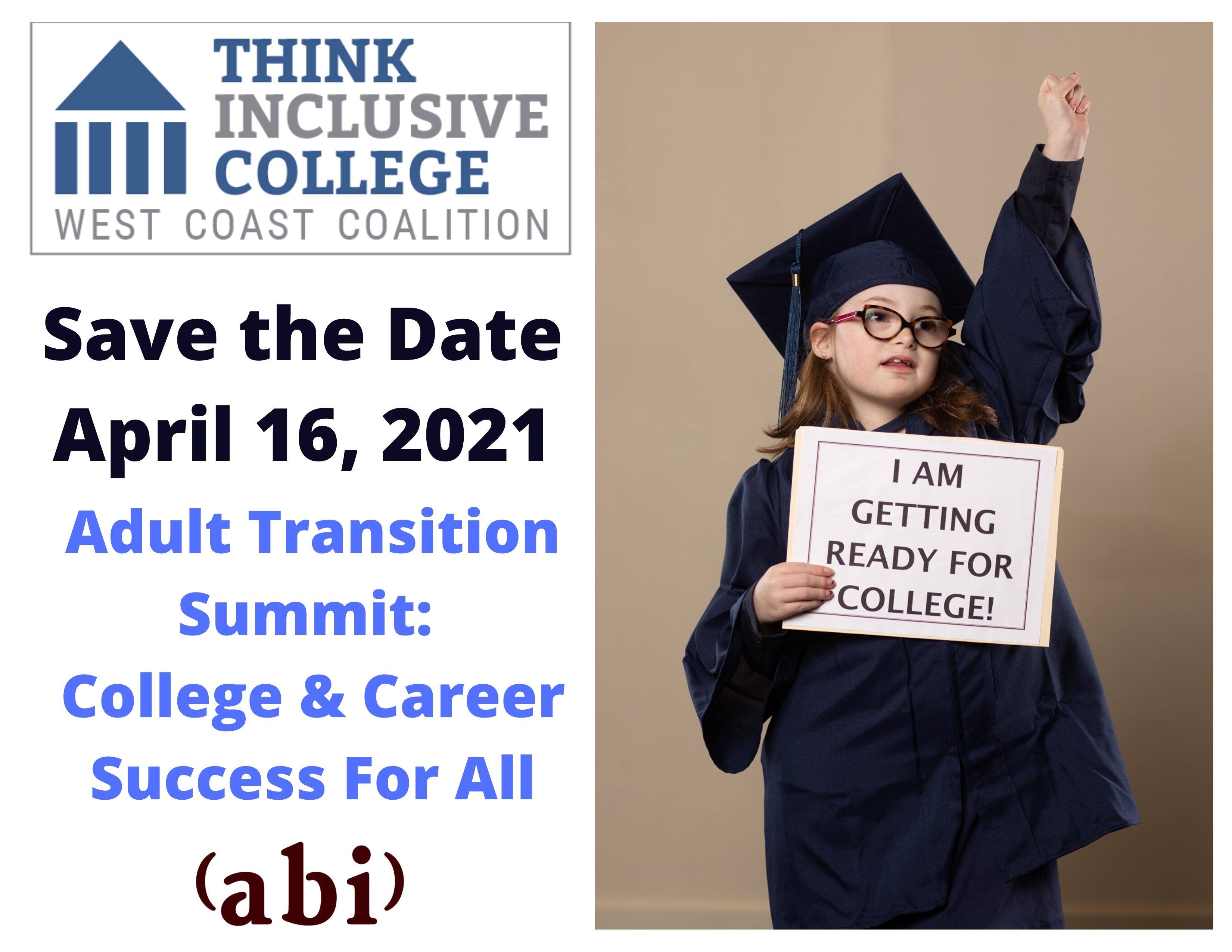 Adult Transition Summit: College & Career Success for All -- CANCELED