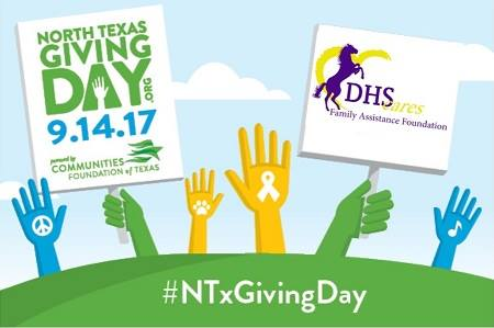 On September 14, Donate to Denton High Cares on North Texas Giving Day!