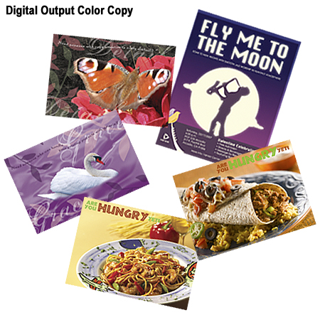 Color Digital Copies - ADD HIGH IMPACT WITHOUT THE HIGH COST!