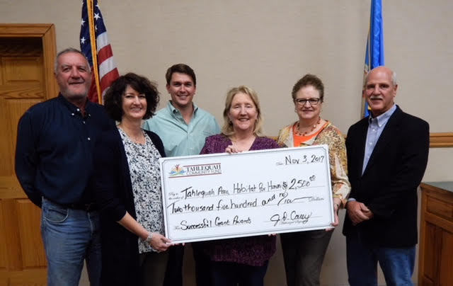 TAHFH Awarded Grant from Tahlequah Community Foundation
