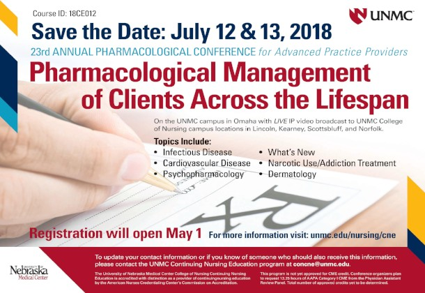2018 Pharmacology Conference