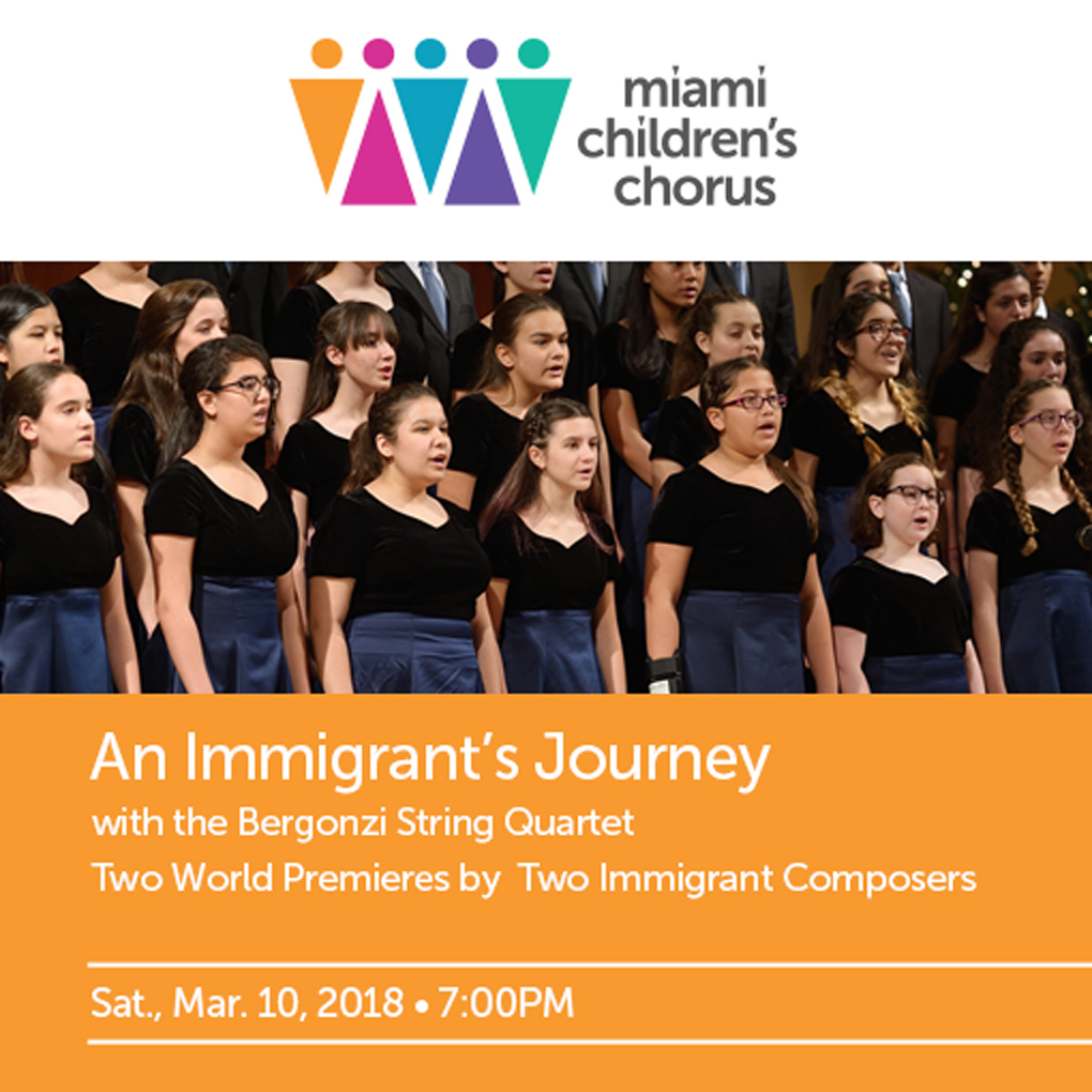 An Immigrant's Journey – POSTPONED