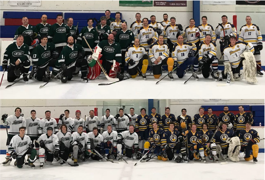 Friends and Rivals Gather for Alumni Hockey Games