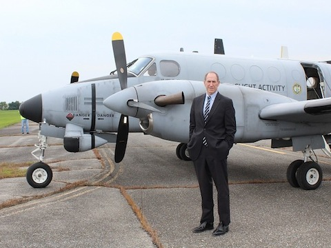 Museum Acquires Army RC-12D