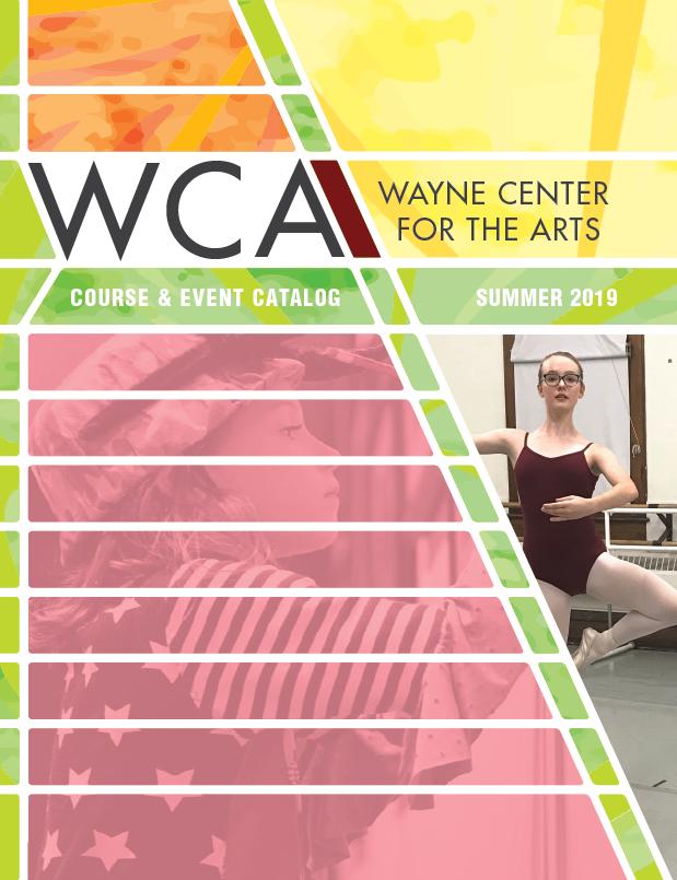 WCA 2019 Summer Course & Event Catalog