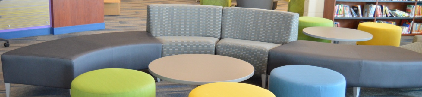 Multi-colored Chairs and Bench Seating