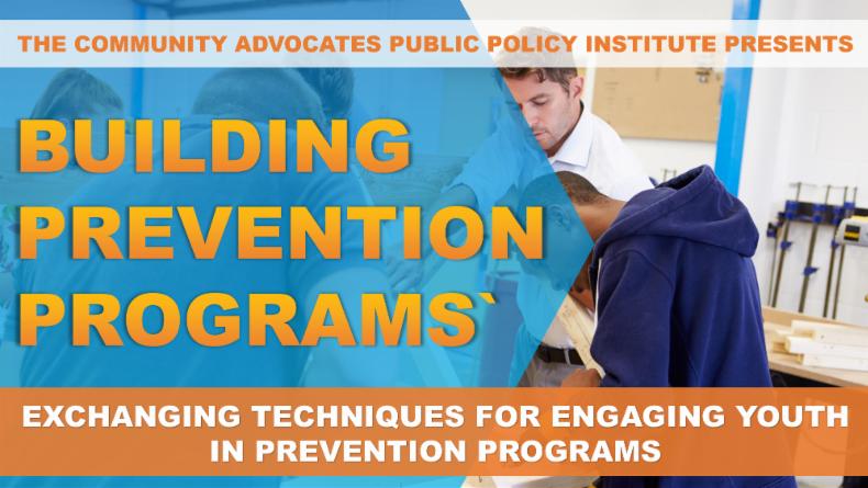 Building Prevention Programs Webinar