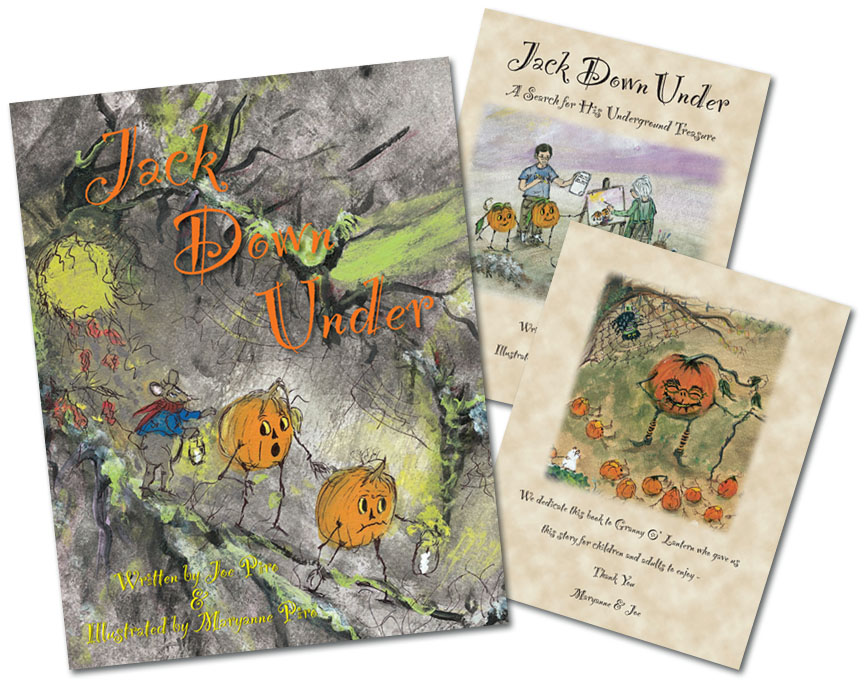 Local Author and Illustrator Joe and Maryanne Piro - Jack Down Under Children's Book
