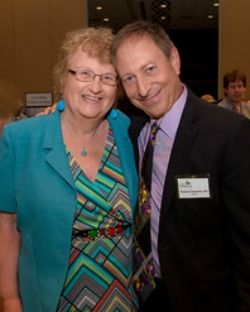 2015 West Conn Event: LDA President Pat Smith with Dr. Richard Horowitz