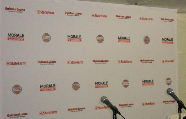 Press Conference Backdrop