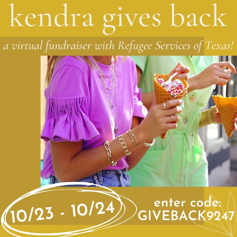 Kendra Gives Back!