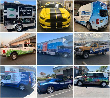 Vehicle Wraps Visalia CA