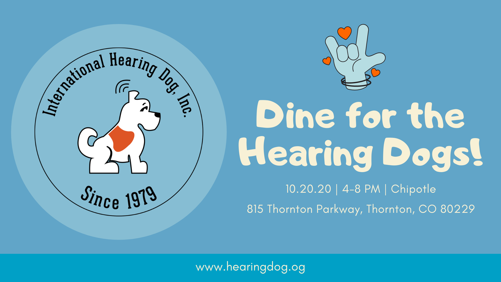 Dine for the Hearing Dogs