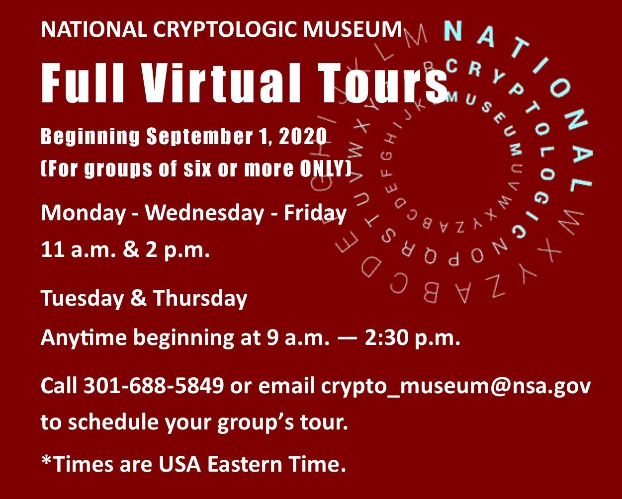 NCM Offers Full Virtual Tours