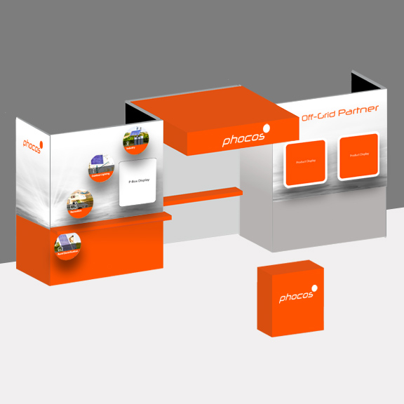 Trade show booth concept and creation