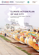 Climate action plan of Hue City to response to Climate change period 2014–2020