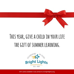 Bright Lights Gift Certificates