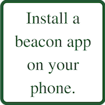 Install a beacon app on your smartphone