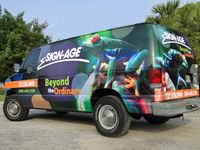 Full Digital Van Wrap