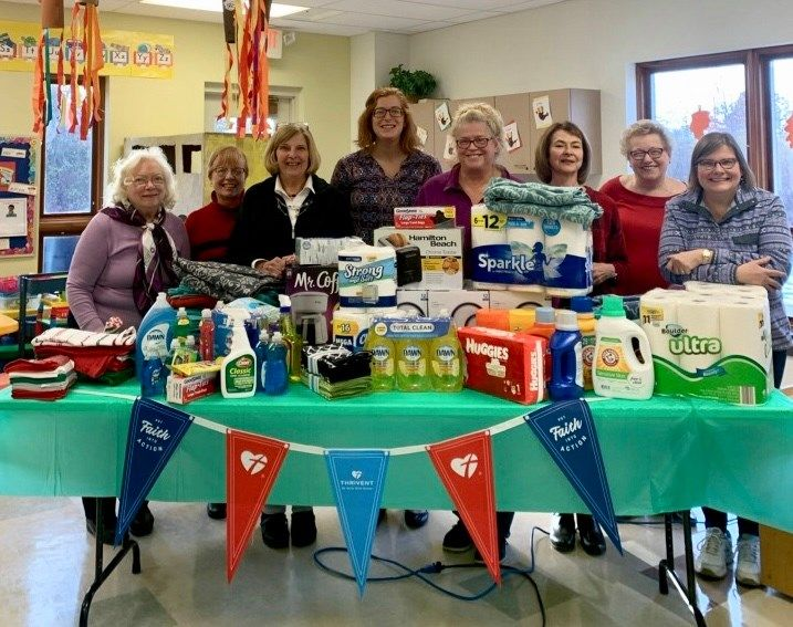 Donations for our Shelter from Hope Lutheran Church