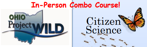 In-Person Combined Citizen Science/ Project WILD/Aquatic WILD – July 15, 2021