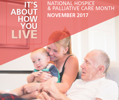 November is National Hospice & Palliative Care Month!