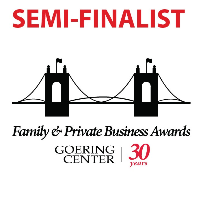 Decal Impressions is a Semi-Finalist for the 20th Annual Goering Center Family & Private Business Awards.