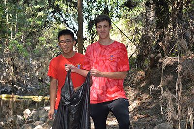 Eagle Scout Project at Edith Moore