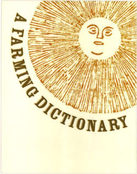 A Farming Dictionary