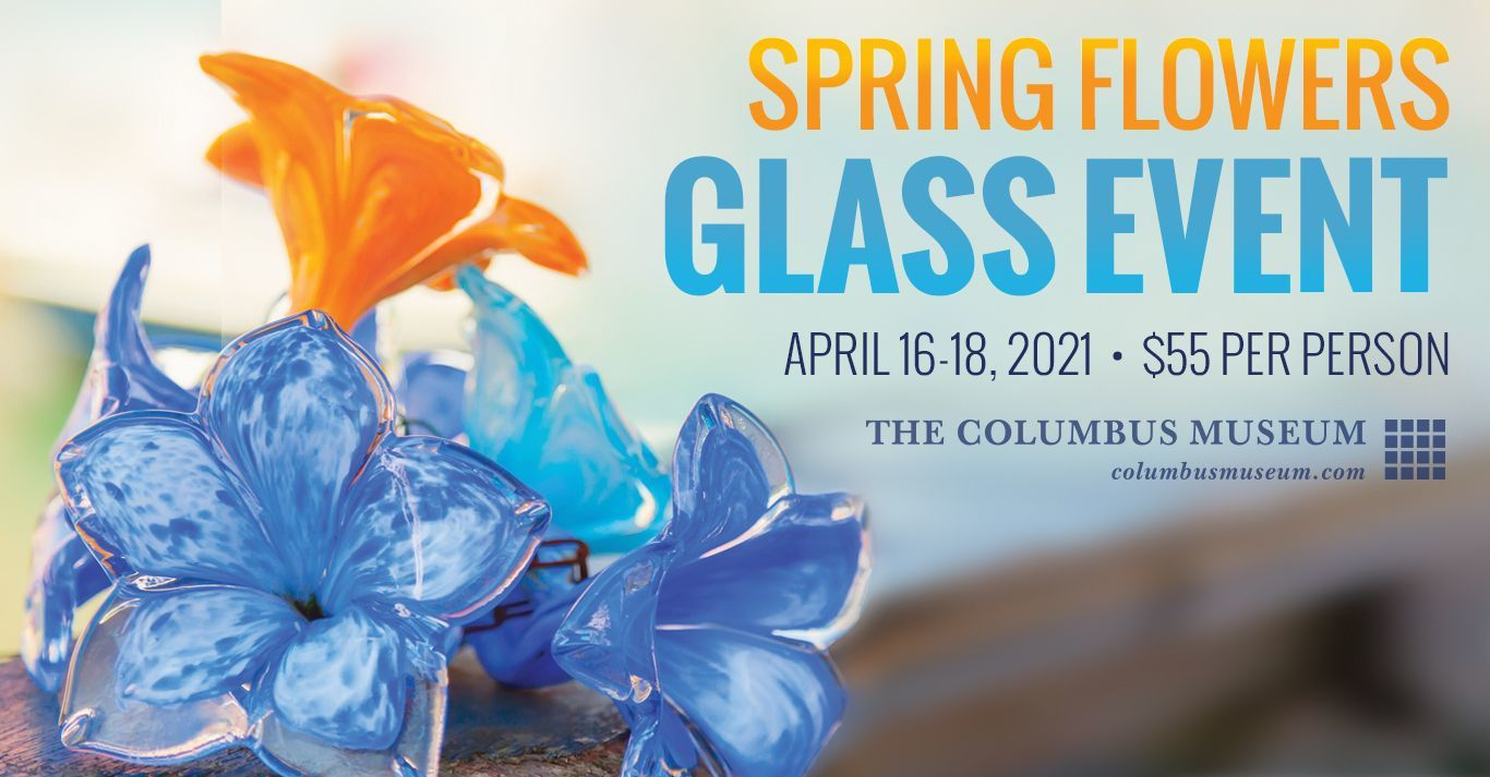 Spring Flowers Glass Event