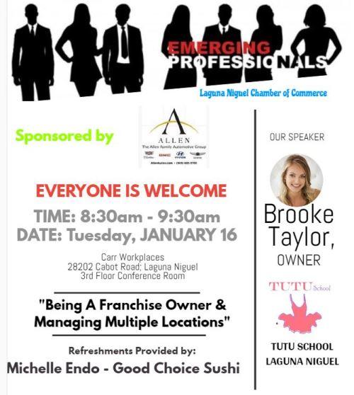 Emerging Professionals Meeting