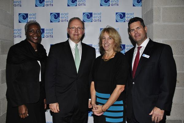 Lorraine Aycock, honoree Bob Isaksen, Pat Snyder, Robert Ward