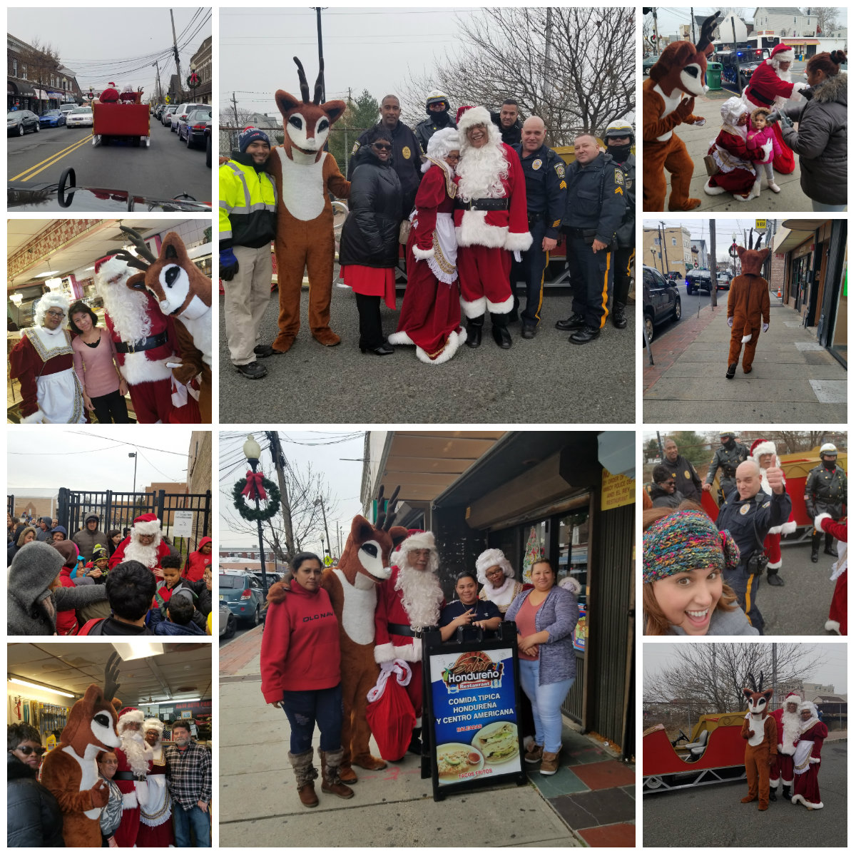 Selfies With Santa In the Gateway December 2017