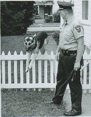 LCF Donor Profile: K-9 Officer Bernie Frey