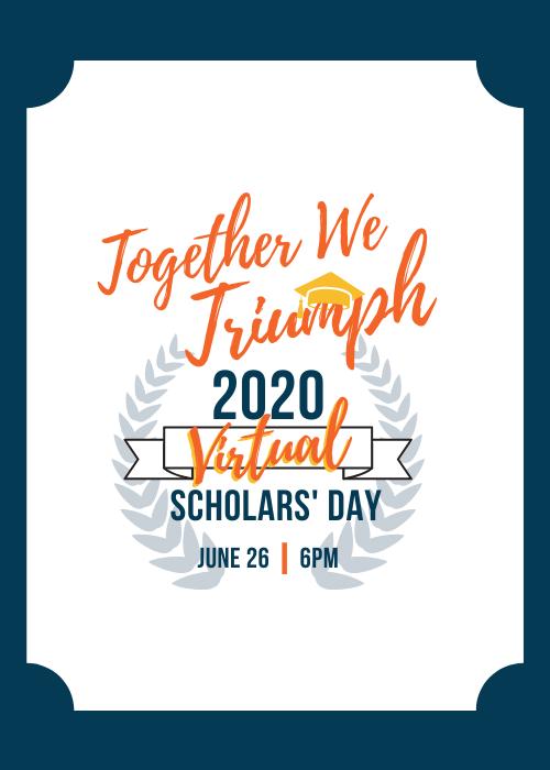 2020 Scholars' Day Celebration