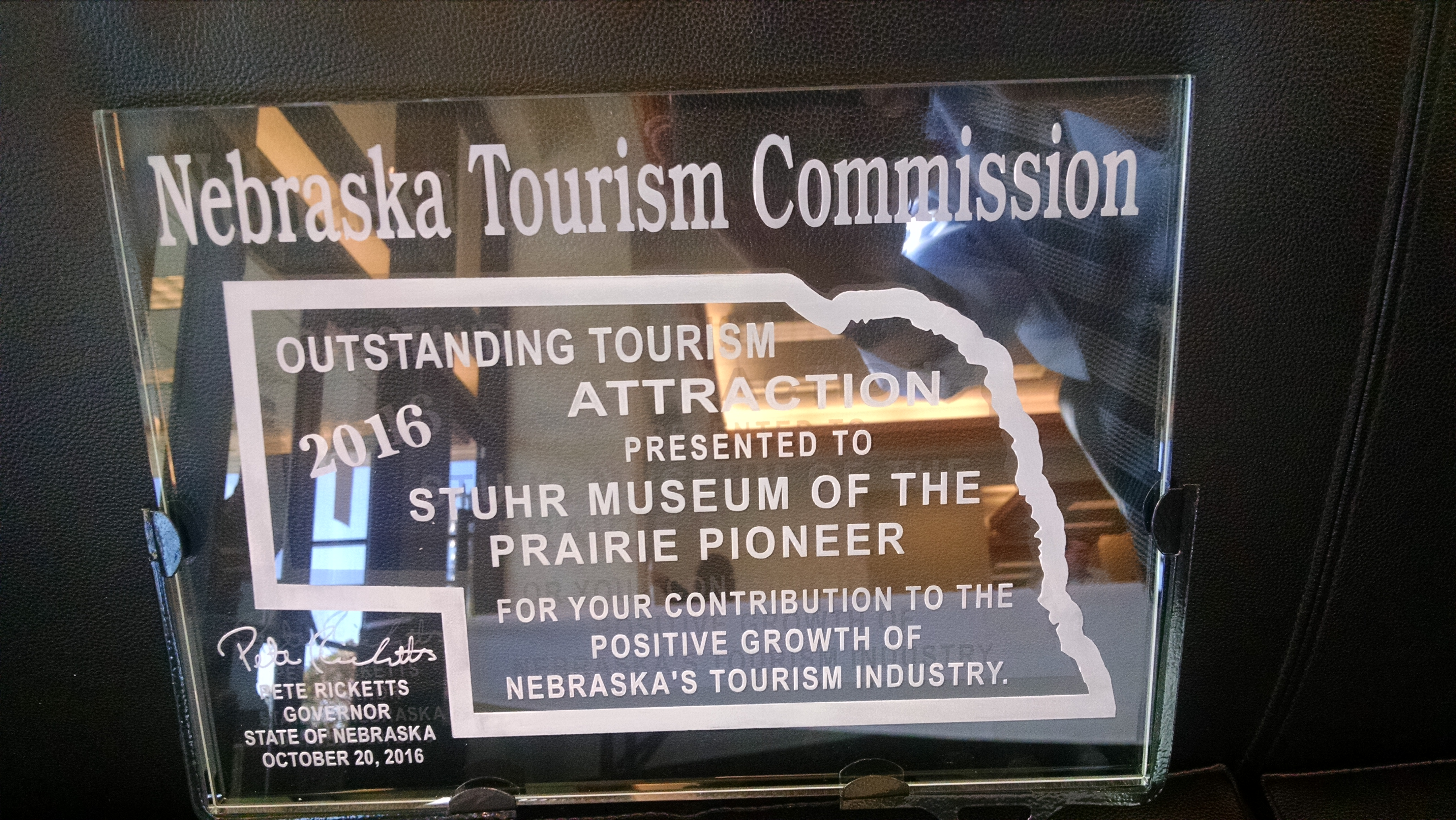 Outstanding Tourism Attraction Award